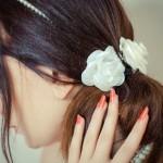 コサージュの髪飾り 「簡単・可愛い・すぐできる」作り方を紹介