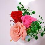 初心者向けフラワーアレンジメントはバラでイベントを演出
