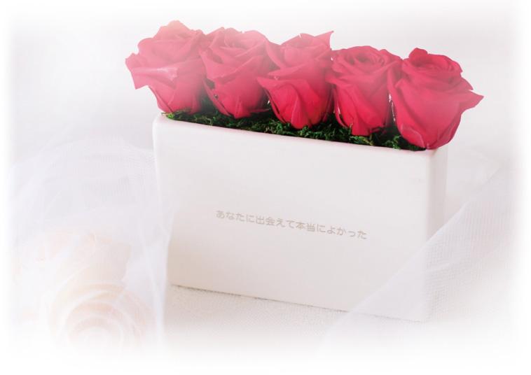 5本のバラの花言葉は、「あなたに出会えて本当によかった」